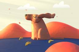 clay dog Stop-Motion Animation