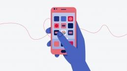 2D Illustration Smartphone