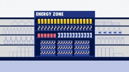 Red Bull Energy Zone Illustration