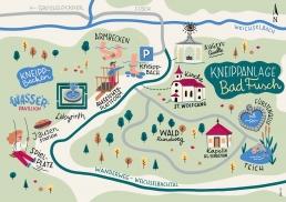 map illustration Bruck Fusch